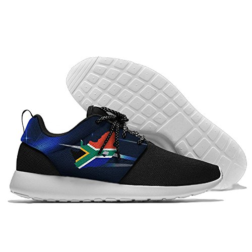 Map Flag Of South Africa Unisex Running Shoes Sport Shoes Lightweight Sneakers Men's Mesh Breathable Athletic Walking Shoes by Futong Huaxia