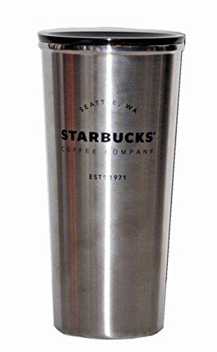 - Starbucks Stainless Steel Brushed Coffee Tumbler Travel Mug 16 Ounces
