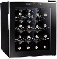 YFGQBCP Vino electrónica del gabinete-16 Botellas de Vino Frigorífico Debajo del refrigerador de Vino Bodega de Champagne Cerveza Funcionamiento silencioso (Color : A)