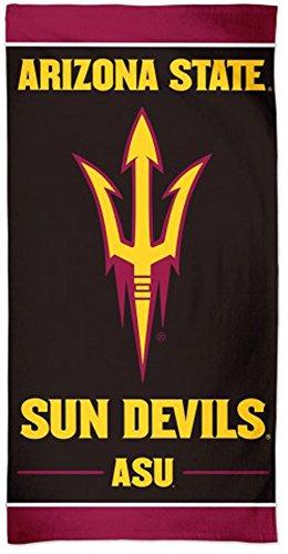Devils Arizona State Towel Sun (McArthur Arizona State ASU Sun Devils Beach Towel with Premium Spectra Graphics 30 x 60 inches)