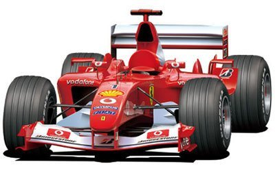 Fujimi 1/20 Grand Prix Series No.23 Ferrari F2003-GA Japan/Italy/Monaco/Spain Grand - F2003 Ga Ferrari