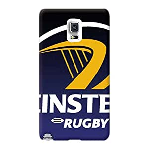 LauraFuchs Samsung Galaxy Note 4 Bumper Hard Cell-phone Case Support Personal Customs HD Leinster Rugby Pictures [SKH15336QXJs]