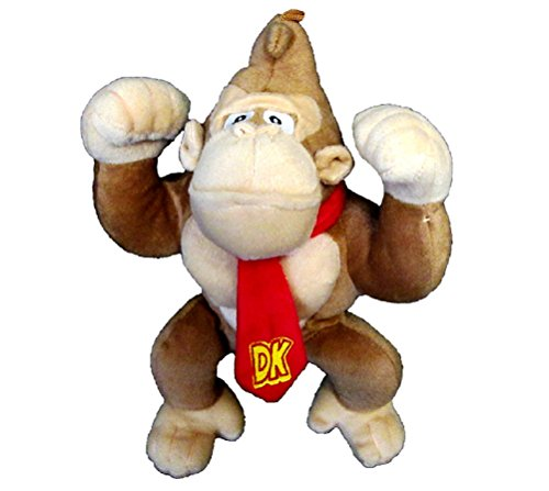 "NINTENDO OFFICIAL SUPER MARIO DONKEY KONG 6"" PLUSH"