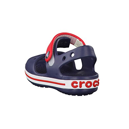 crocs Crocband Sandal Kids 12856-6O4-126 - Sandalias para niña Navy Red
