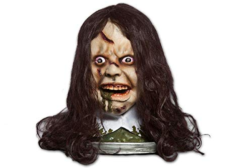 (Morbid Enterprises The Exorcist Head Platter, Cream/Brown/Silver/White/Green, One Size)