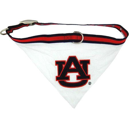 Auburn Tigers NCAA Dog Collar Bandana Small