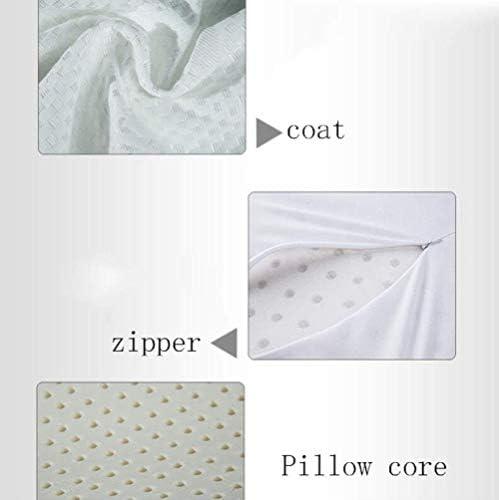 COOYT Oreiller en Latex Naturel, Oreiller de Style for bébé de 0 à 3 Ans, Oreiller en Latex for bébé for Dormir