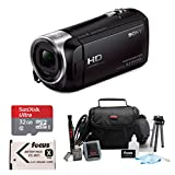 Sony HD Video Recording HDRCX405 Handycam Camcorder (Camcorder Bundle)