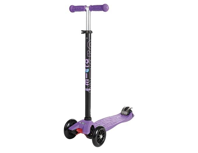 Micro Mobility Maxi - Scooters (Niños, Asphalt, Púrpura, Poliuretano)