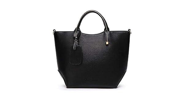 Amazon.com: Women Black Totes Top Handle Handbags Retrao ...