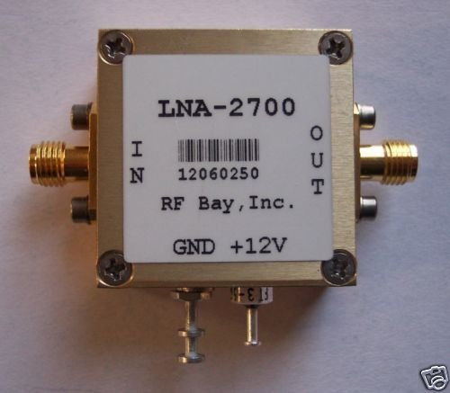 2.2-3.2GHz Low Noise Amplifier, LNA-2700, New, SMA by RF Bay