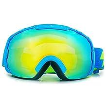 Over Glasses Ski / Snowboard Goggles for kids - 100% UV Protection