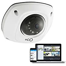 Oco OPHWD-16US Pro Dome Cloud Video Surveillance Camera, White