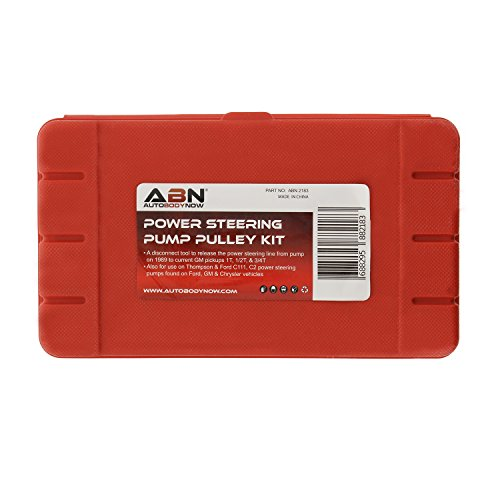 ABN Automotive Power Steering Pump Pulley Remover Installer Tool Kit – Puller Removal Set for GM, Ford, Chrysler Truck by ABN (Image #5)