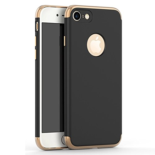 Price comparison product image IPhone 7 Case, A Trading Shockproof Thin Hard Case Cover for iPhone 7 4.7inch (black)