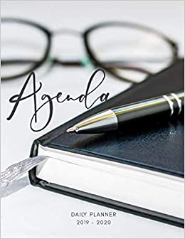 Planner July 2019- June 2020 Agenda Monthly Weekly Daily ...