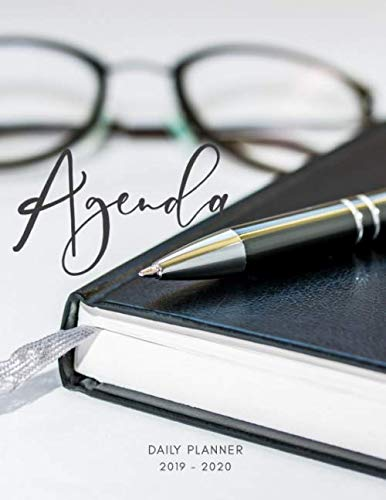 Planner July 2019- June 2020 Agenda Monthly Weekly Daily Calendar: Academic Hourly Organizer In 15 Minute Interval; Appointment Calendar With Address ... Journal Diary With Quotes & Julian Dates por Zen Hourly Planner