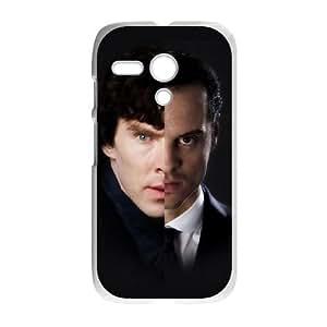 Sherlock Motorola G Cell Phone Case White SA9703290