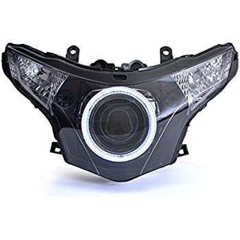 Amazon Com Kt Full Led Headlight Assembly For Honda