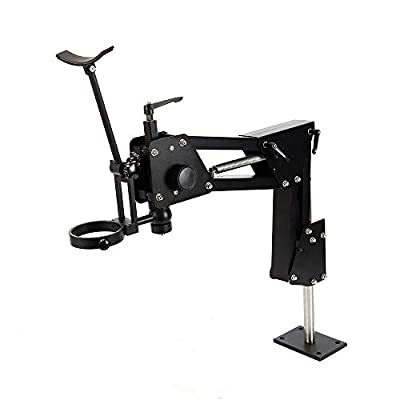 Microscope Jewelry Inlaid Stand Multi-Directional Jewelry Inlaid Stand For Micro-Setting Jewelry Tool 85mm (Microscope is not included) (USA Stock)