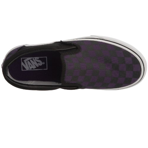 Adulto Gothic Black Classic Grape Slip Zapatillas Unisex Morado Vans On Checkerboard wPqAS0AX