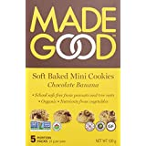 MadeGood Chocolate Banana Soft Mini Cookies, 120g