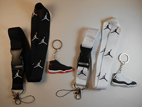 with Two Jordan Shoe keychains. New!!!! ()
