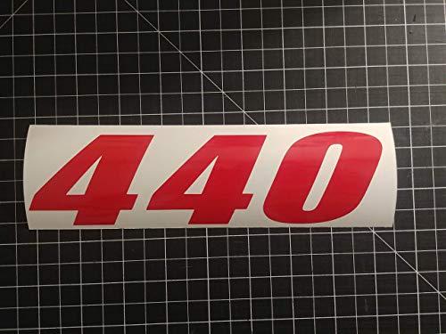 Multi-Color 440 engine HP Mopar decal sticker (4
