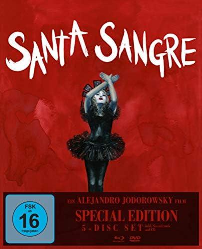 Santa SangreSpecial Edition Alejandro Jodorowsky 1 Bluray3 DVDs1 CD