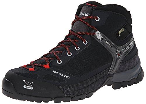 Salewa MS Firetail EVO MID GTX 00-0000063401 Herren Trekking- & Wanderstiefel, Schwarz (Black 0900), 45 EU (10.5 Herren UK)