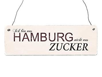 INTERLUXE Holzdekoschild IN MEINER KÜCHE WIRD GETANZT Shabby ...