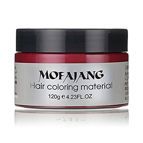 MOFAJANG Hair Coloring Wax Red