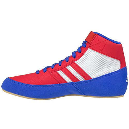 Adidas Hvc 2 Worstelschoenen - Blauw / Rood / Wit - 12