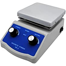 FAITHFUL Hot Plate Magnetic Stirrer with Dual Control and 1 Inch Stir Bar C3-110V
