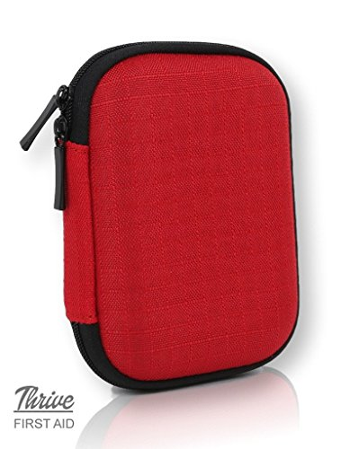 First Aid Kit – 66 Pieces – Small and Light Soft Shell Case