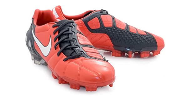 a8e49d1a3f57 Amazon.com: Nike Men's NIKE TOTAL90 LASER III FG SOCCER CLEATS 9.5  (CHALLENGE RED/WHITE/DRK SHADOW): Shoes