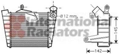 Van Wezel 58004213 Ladeluftkühler Auto