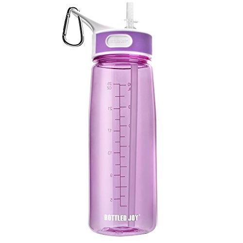 see through water bottle - 2