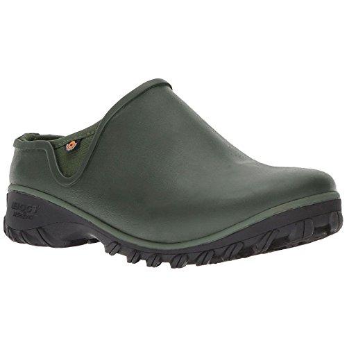 Bogs Women's Sauvie Clog Snow Boot, Sage, 8 Medium US