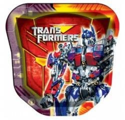 Transformers Lunch Dinner Plates