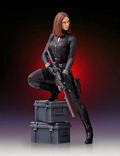 Captain America The Winter Soldier Black Widow 9-Inch Statue - Black Widow Comic Book Costumes
