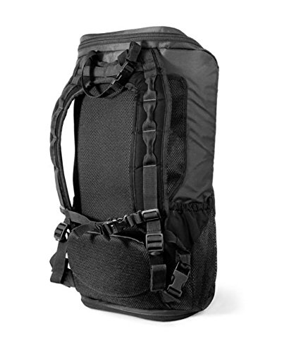 Copper Basin Takedown Firearm Backpack Discrete Takedown & Compact Firearm Storage Pack, Black/Gray, Black
