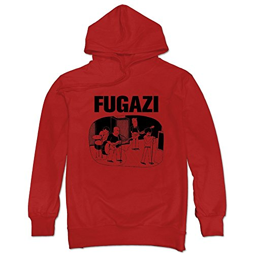 Post Hardcore Band Fugazi Repeater Hoodie For Man's Red