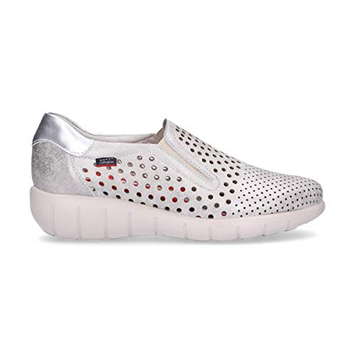Donna On 11603silver Callaghan Pelle Sneakers Argento Slip wtCq5qxZg