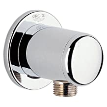 GROHE 28672000 Wall Mount Hand Shower Union, Starlight Chrome