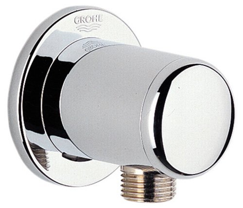 Trim Grohe Faucet (Grohe 28672000 Wall Union, Starlight Chrome)