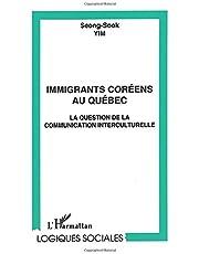 Immigrants coréens au québec