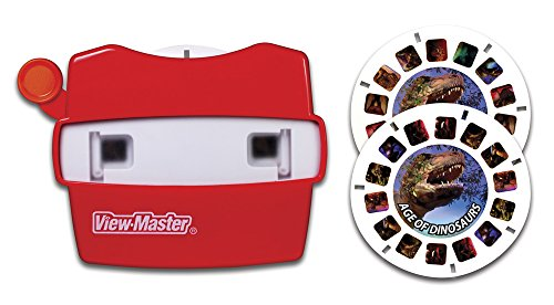View Master Classic Viewer with 2 Reels Age of Dinosaurs Toy, Package May Vary (Reel Viewmaster)