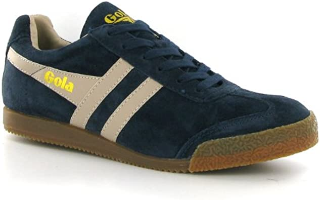 Harrier Navy Suede Mens Trainers Size 9