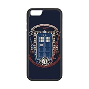 "Fashion Hard Protective Gel Rubber Coated Cell Phone Case Cover for iPhone 6 4.7"" - Sherlock"
